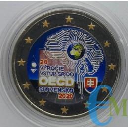 2 euro Colorato 20° adesione all' OCSE