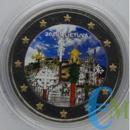 2 euro Colorato Collina delle Croci