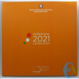Italia 2021 - Divisionale Euro Ufficiale - 8 valori