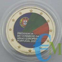 2 euro Colorato Presidenza del Consiglio dell'Unione Europea