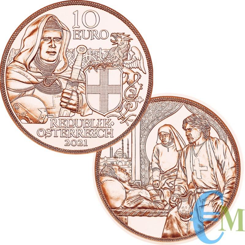 10 euro Cavalieri Templari ''Fraternità''
