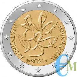 2 euro commemorativo Giornalismo e comunicazione aperta a sostegno della democrazia finlandese.