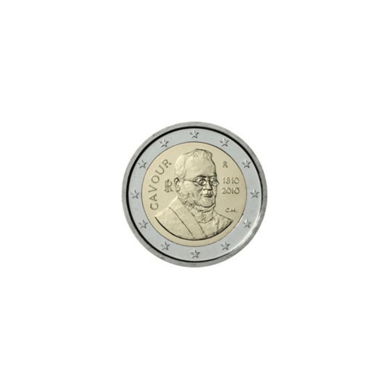 Italia 2010 - 2 euro commemorativo 200° anniversario della nascita di Camillo Paolo Filippo Giulio Benso, conte di Cavour.