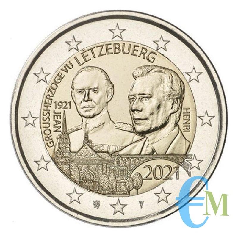 2 euro 100º nascita del Granduca Giovanni versione in rilievo