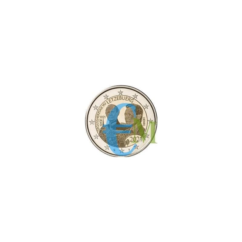 2 euro 100º nascita del Granduca Giovanni versione foto