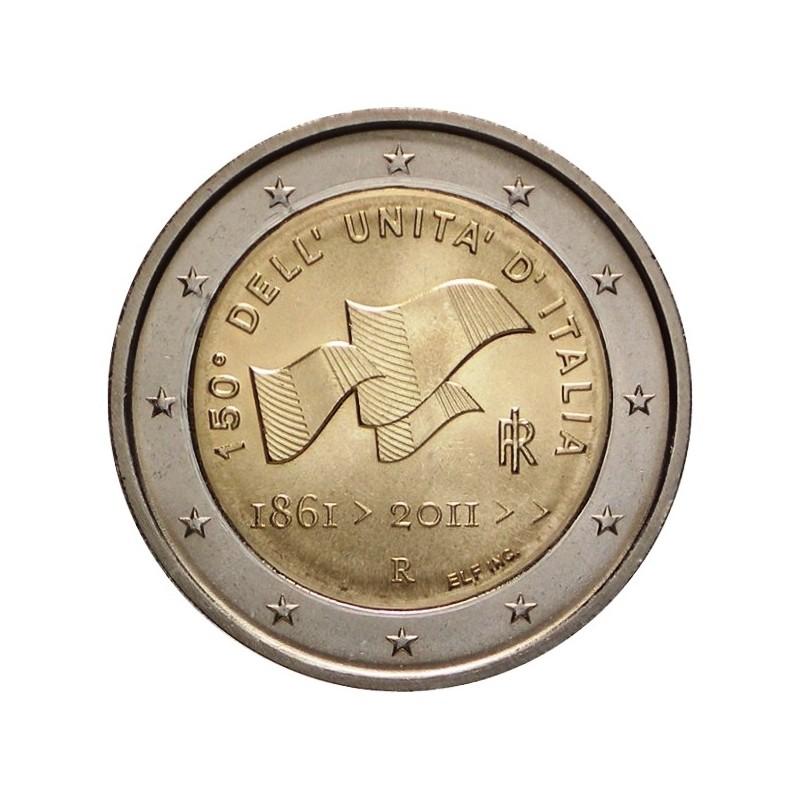 Italia 2011 - 2 euro commemorativo 150° anniversario dell'unità d'Italia.