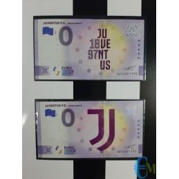 0 euro 2021 JUVENTUS F.C. – Prodotto Ufficiale in folder banconote