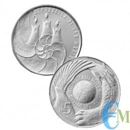 5€ Argento giornata internazionale della biodiversità