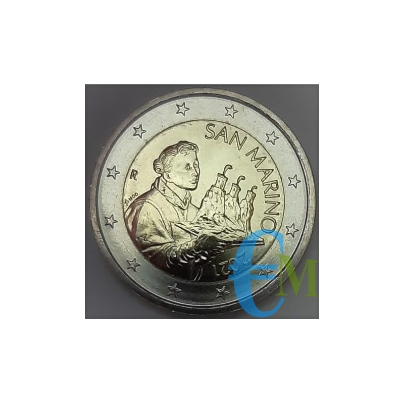 2 euro San Marino 2021 normale