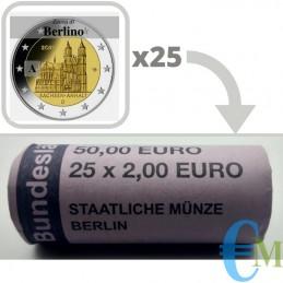 Rotolino 2 euro Cattedrale di Magdeburgo - zecca A