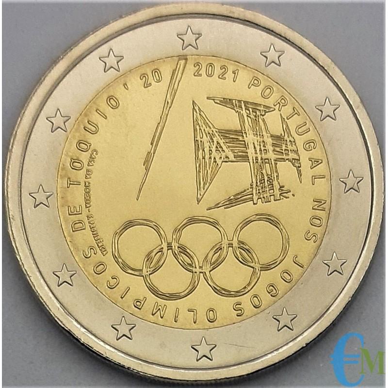 2 euro Giochi olimpici estivi del 2021