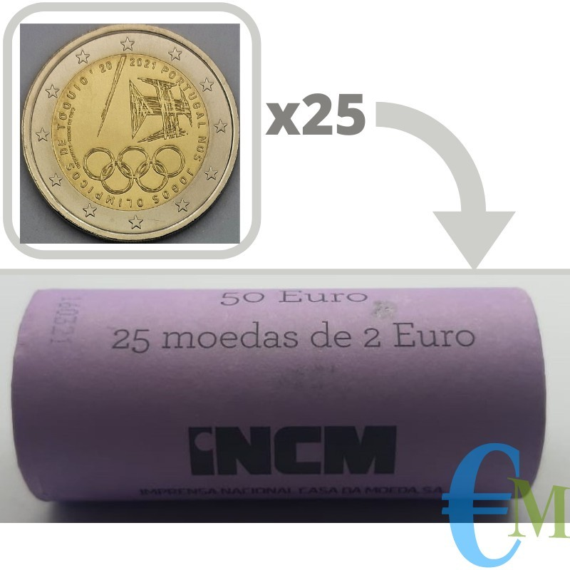 Roll 2 euro the Summer Olympic Games 2021