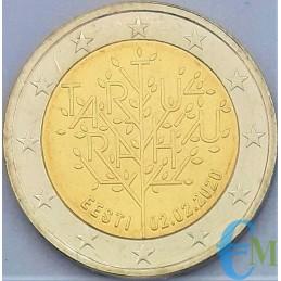 Estonia 2020 - 2 euro commemorativo 100° anniversario del trattato di Tartu