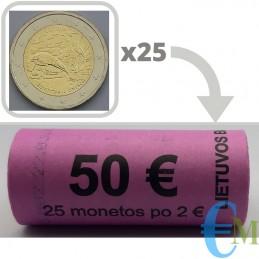 Rotolino 2 euro Riserva della Biosfera di Žuvintas