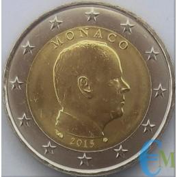 Mónaco 2015 - 2 euros emitidos para circulación
