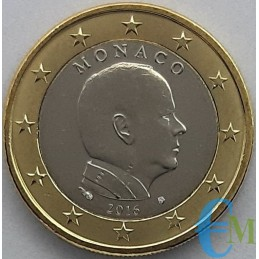 Monaco 2016 - 1 euro issued for circulation