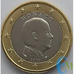 Mónaco 2016 - 1 euro emitido para circulación