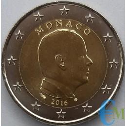 Monaco 2016 - 2 euro emesso per la circolazione