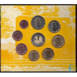 Luxembourg 2021 - Série Euro officielle - 9 valeurs dont 2 euros 100e naissance du Grand-Duc Giovanni