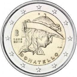 Italia 2016 - 2 euro commemorativo 550° anniversario della morte di Donato di Niccolo di Betto Bardi.