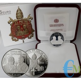 Vatican 2021 - 5 euro 50th of the Association of SS. Peter and Paul