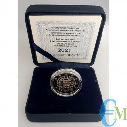 Greece 2021 - 2 euro Proof 200th Greek War of Independence