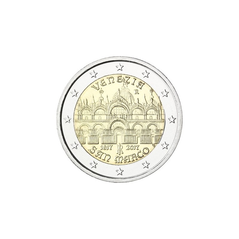 Italia 2017 - 2 euro commemorativo 400° anniversario del completamento della Basilica di San Marco.