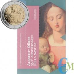San Marino 2021-2 euros 550 nacimiento de Alberto Durero