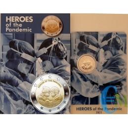 Malta 2021 - 2 euro Heroes of the Pandemic