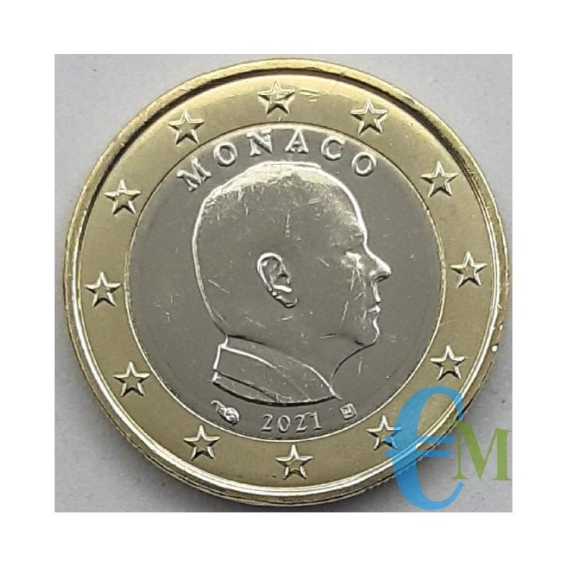 Monaco 2021 - 1 euro x circulation