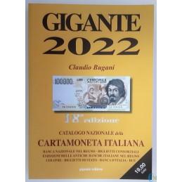 Catálogo GIGANTE 2022 papel moneda italiano