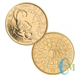 Saint-Marin 2021 - 5 Euro Zodiac Capricorne