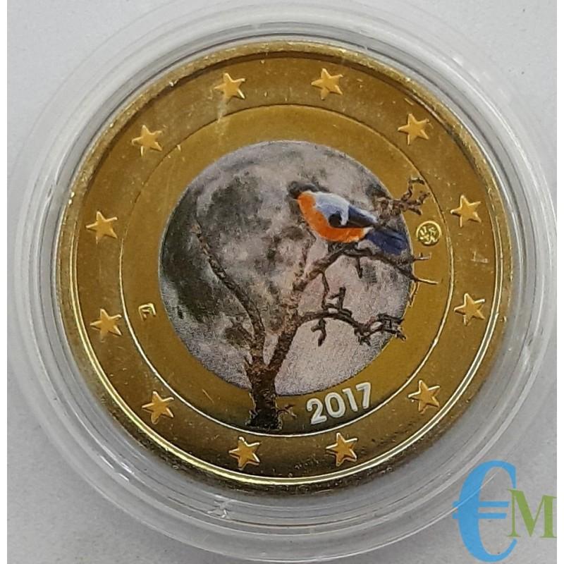 Finlandia 2017 - 2 euro colorato Natura finlandese