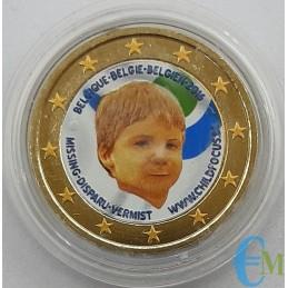 Belgium 2016 - 2 euro colored Child Focus