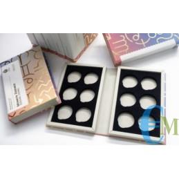 Caja para contener las 12 monedas del Zodíaco de San Marino