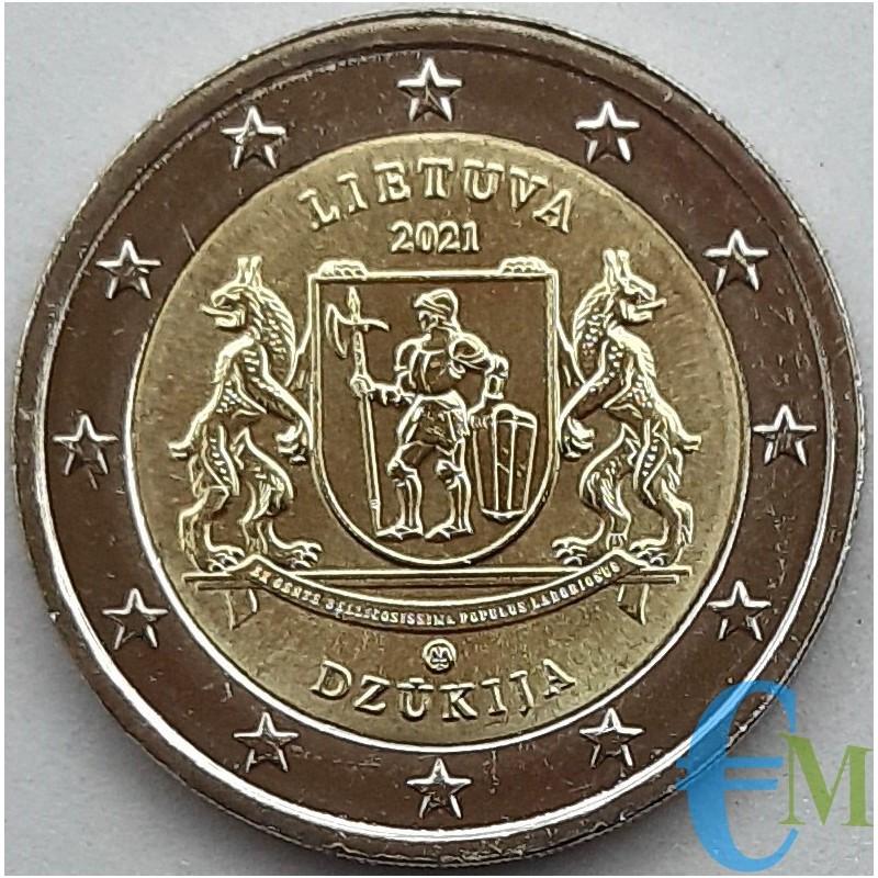Lithuania 2021 - 2 euro Regions of Lithuania Dzūkija