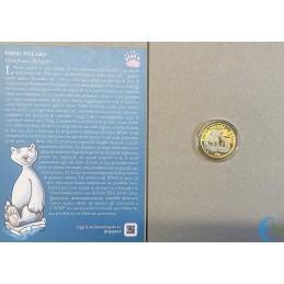 Italy 2021 - 5 euro Sustainable World - Polar Bear coin