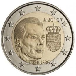Luxemburgo 2010 - 2 euros Escudo del Gran Ducado