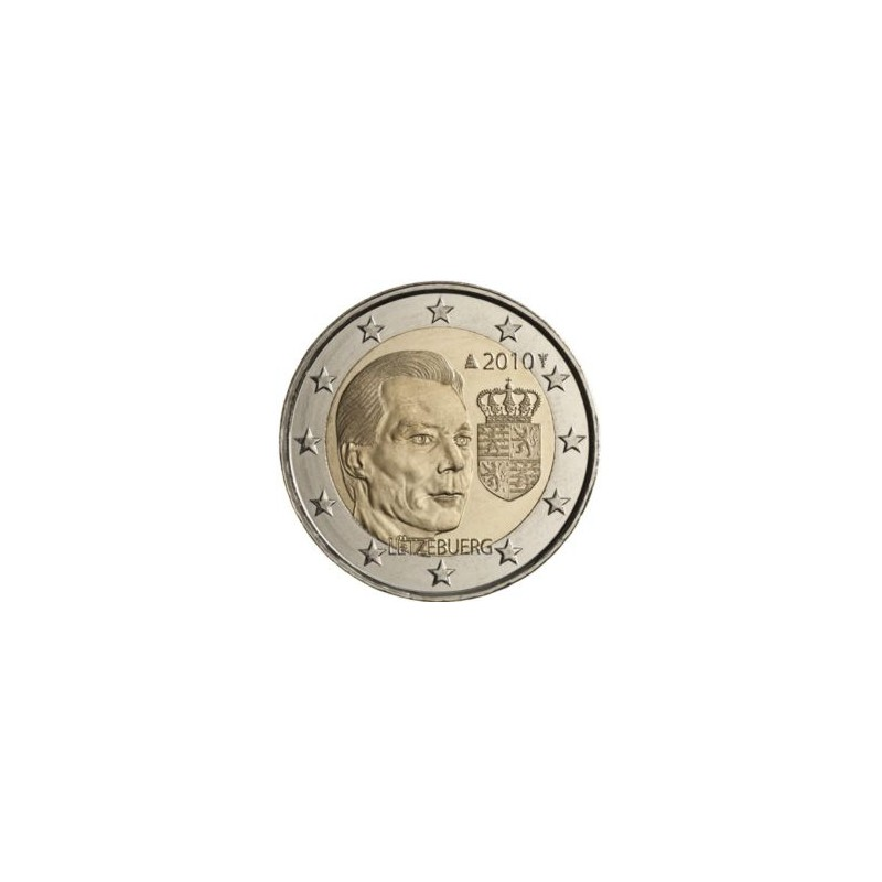 Lussemburgo 2010 - 2 euro commemorativo stemma del Granduca Enrico.