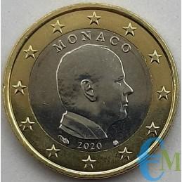 Monaco 2020 - 1 euro x circolazione