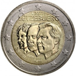 Luxemburgo 2011 - 2 euros 50 ° nombramiento de Juan de Luxemburgo