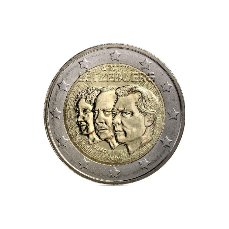 Luxembourg 2011 - 2 euros 50e nomination de Jean de Luxembourg