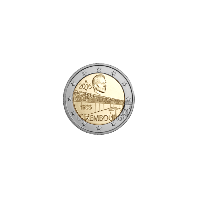 Lussemburgo 2016 - 2 euro 50° anniversario dl Ponte Granduchessa Carlotta.