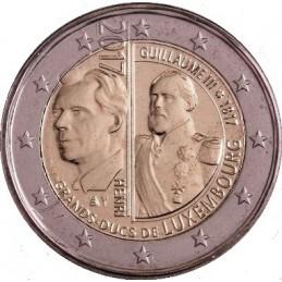Lussemburgo 2017 - 2 euro 200° anniversario della nascita del Granduca Guglielmo III.
