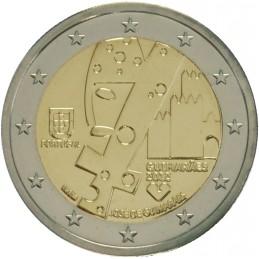 Portogallo 2012 - 2 euro commemorativo Guimaraes capitale europa della cultura.