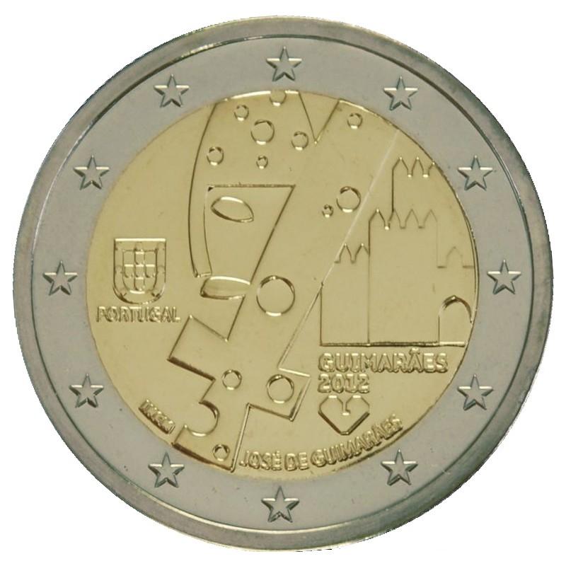 Portugal 2012 - 2 euro Guimaraes, European Capital of Culture
