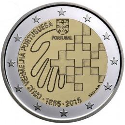 Portogallo 2015 - 2 euro commemorativo anno 150° anniversario della Croce Rossa Portoghese.