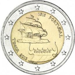 Portogallo 2015 - 2 euro commemorativo anno 500° anniversario dei primi contatti con Timor.