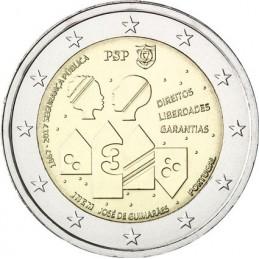 Portugal 2017 - 2 euro 150 ° of the Portuguese Police