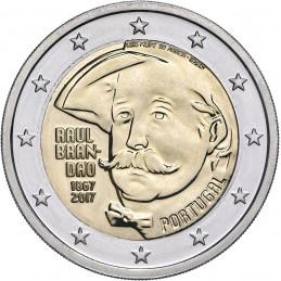 Portugal 2017 - 2 euros 150 nacimiento de Raúl Brandao
